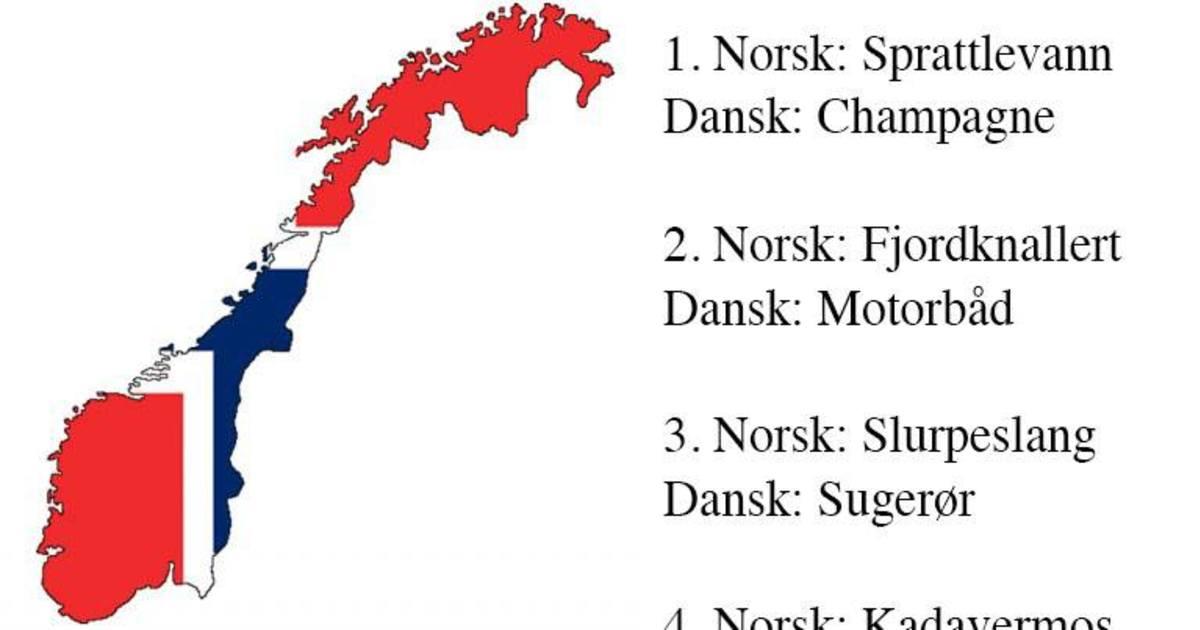 dansk til norsk